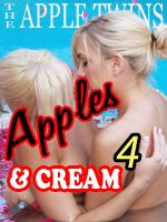 blonde twin sisters stripping