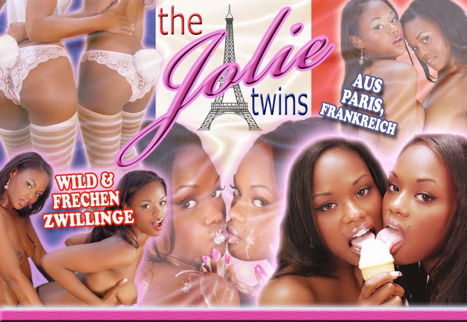 lesbische Zwillingsschwestern